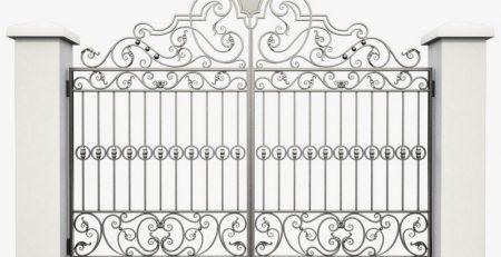 Bộ sưu tập mẫu cửa cổng sắt theo lối hiện đại