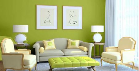 Chọn màu sắc trang trí nhà cho người mệnh Mộc