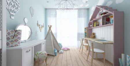 Những mẫu phòng ngủ khiến con bạn như lạc vào thế giới thần tiên